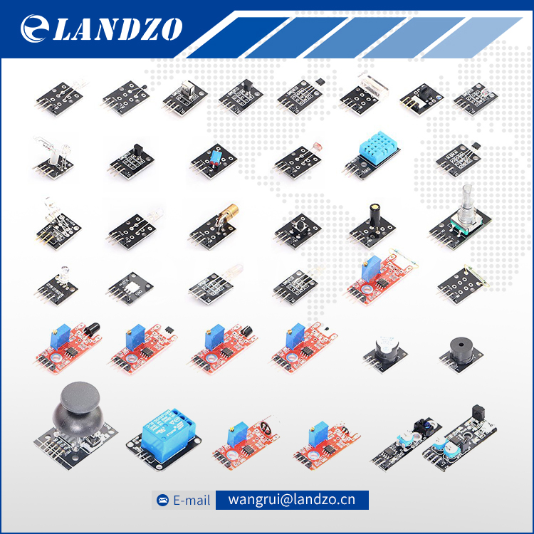 37 IN 1 SENSOR KITS FOR ARDUINO HIGH QUALITY For Arduino Starters free shipping Works with