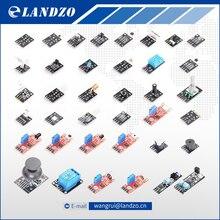 37 EN 1 KITS de SENSORES PARA ARDUINO envío libre de ALTA CALIDAD Para Arduino Entrantes (funciona con Oficiales de la Placa Arduino)