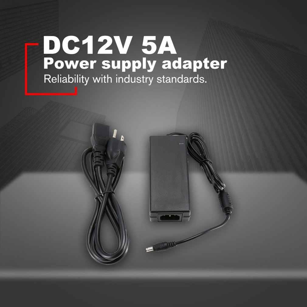 G.T. power 12 V 5A адаптер для защиты от помех адаптер питания конвертер зарядное устройство защита от короткого замыкания для светодиодной полосы света EU/US