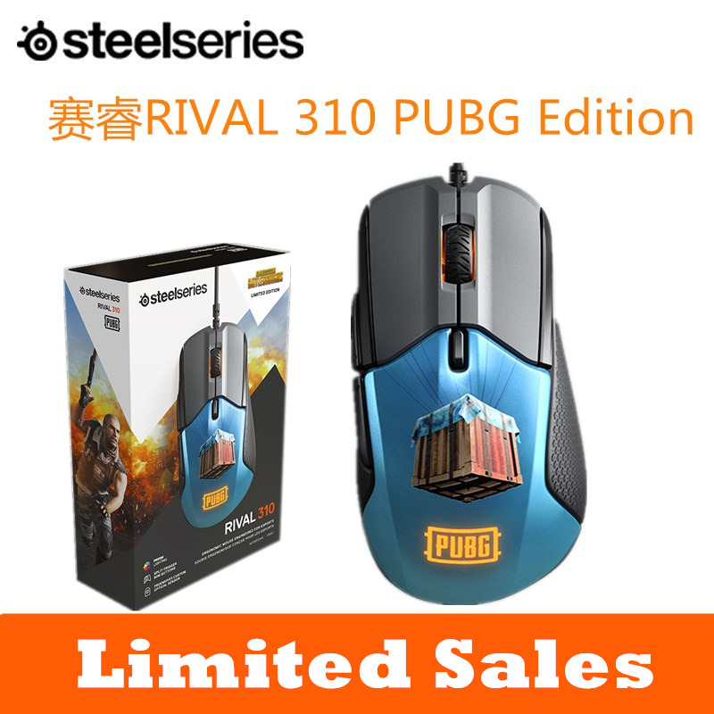 Steelseries Rival310 Game Mice Original roared HOWL CSGO Gaming Computer Mouse 2