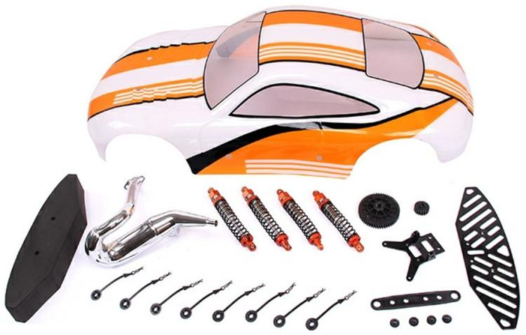 Baja FC 911 flat run conversion kit 85225 911 7979 002