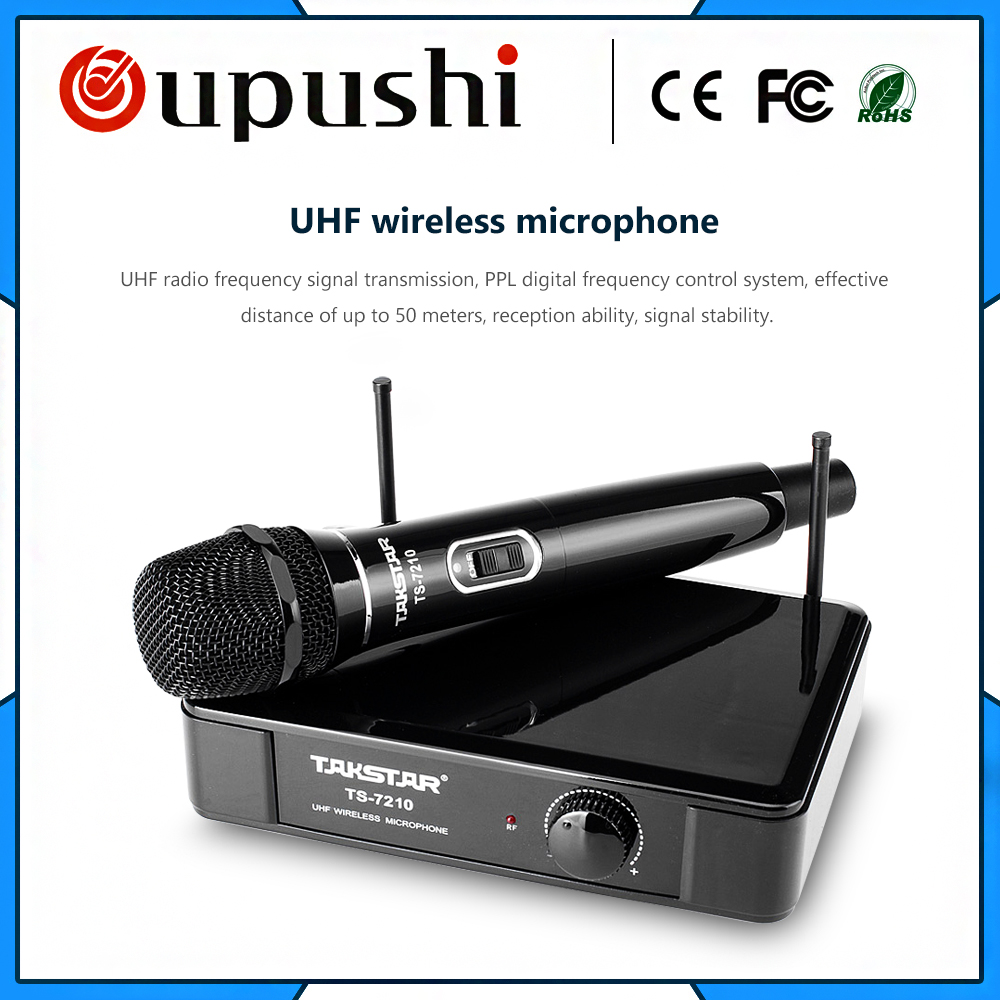 Cheap stage performance mic uhf wireless mini microphone from tmall