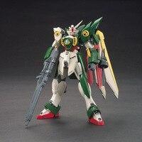 Huong аниме Рисунок HG 1:144 Gundam крыла Gundam собраны игрушки ПВХ Фигурки игрушки модель Коллекционные вещи робот