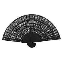 Китайский Японский Стиль Складной вентилятор бамбуковый резной вентилятор деревянные ручные вентиляторы для дома Fiestas# BF