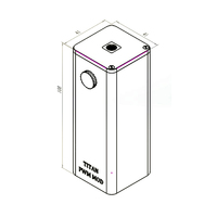 Original Steam Crave Titan PWM VV Box MOD Max 300W Huge Power Fit with Aromamizer Titan RDTA No 18650 Battery E-cigarette Mod 2