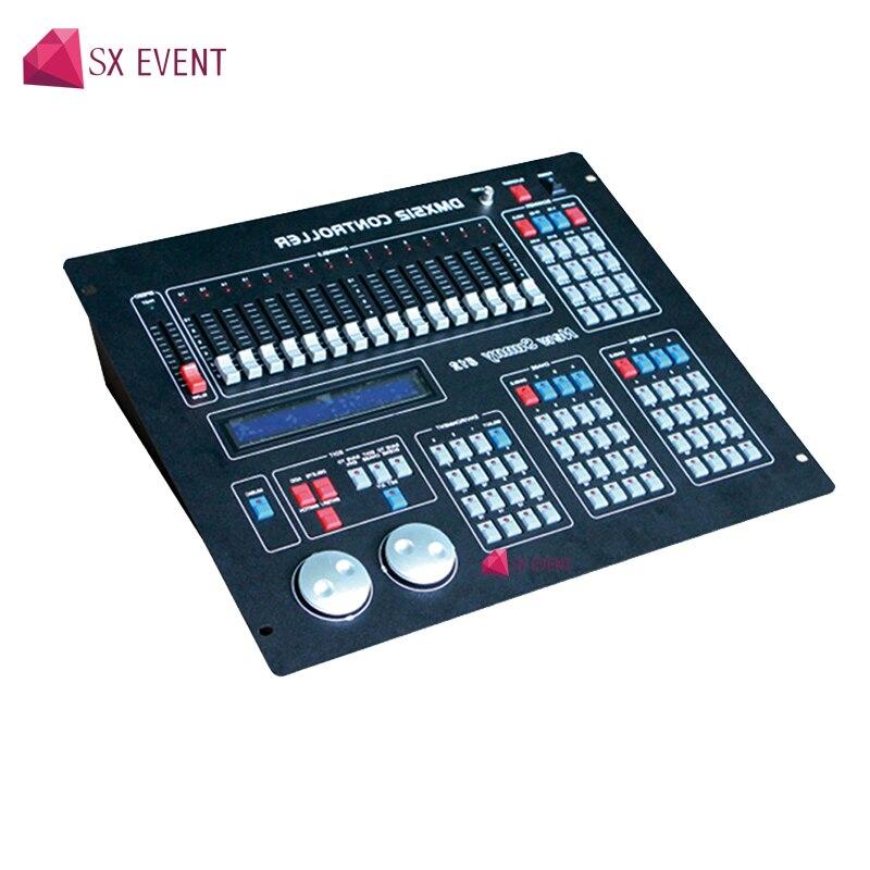Nuovo Sunny 512 DMX 512 Regolatore di Fase del DJ della Luce In Movimento Testa Par Luce DMX Console Sunny512 DMX Controller per dj attrezzature