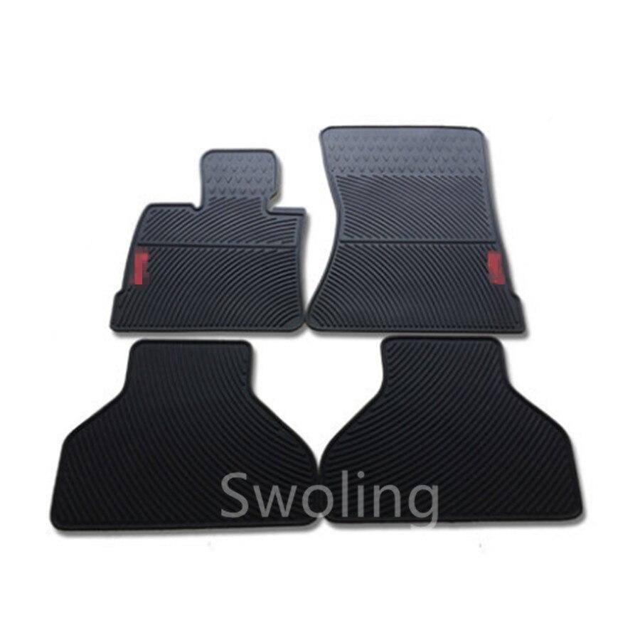 Pour BMW X5 E70 2007-2013 haute qualité étanche Anti saut Latex Durable tapis spécial en caoutchouc voiture tapis de sol