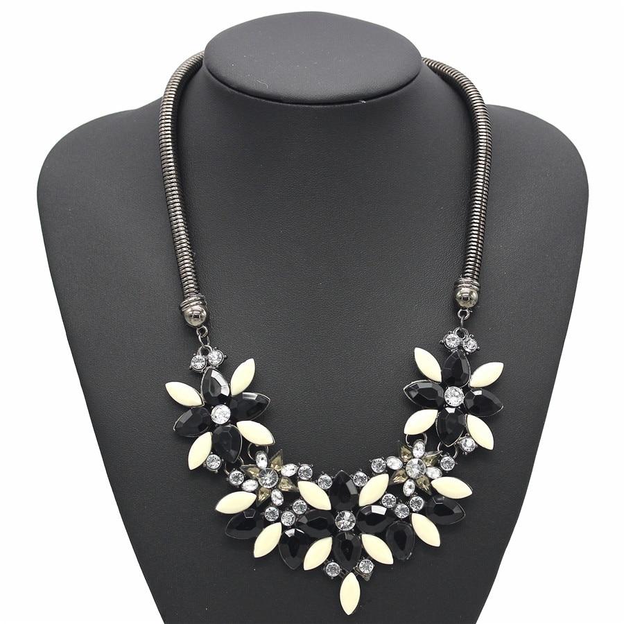 Fashion Crystal Pendentif Bib Choker chaîne Déclaration Collier Boucles d/'oreilles Bijoux