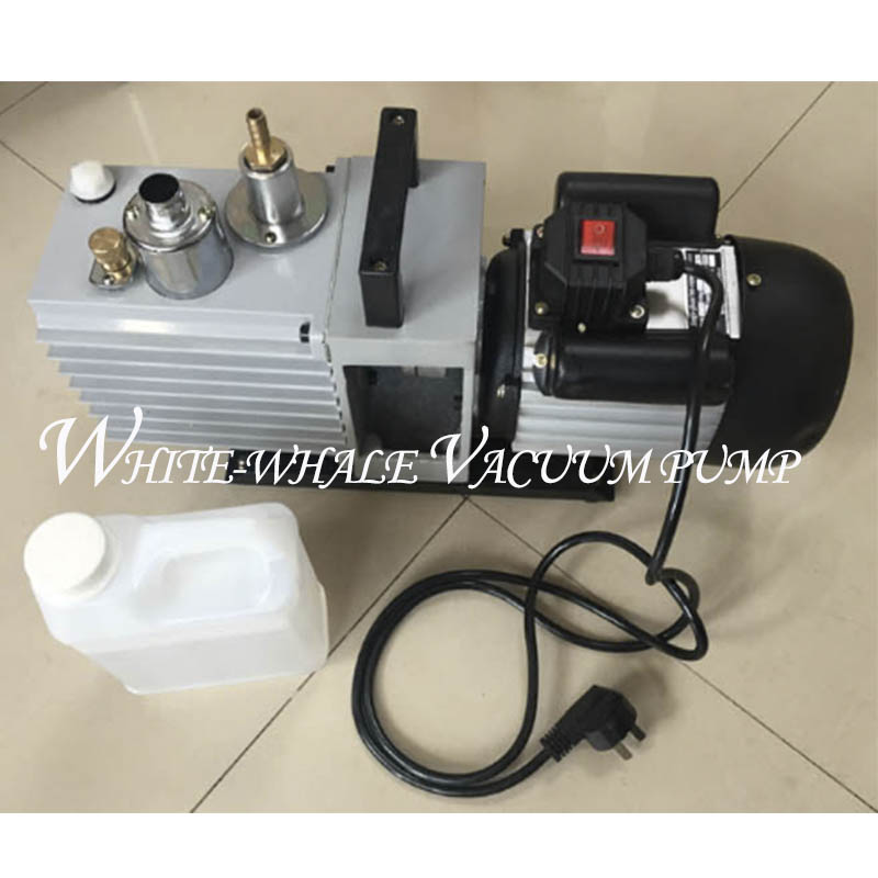 1CFM 220V50HZ 2xz-0.5 direct coupled rotary vane vacuum pump for vaccum welding with good quality