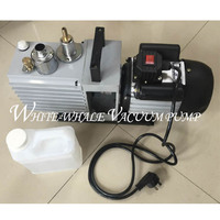 1CFM 220V50HZ 2xz 0.5 direct coupled rotary vane vacuum pump for vaccum welding with good quality