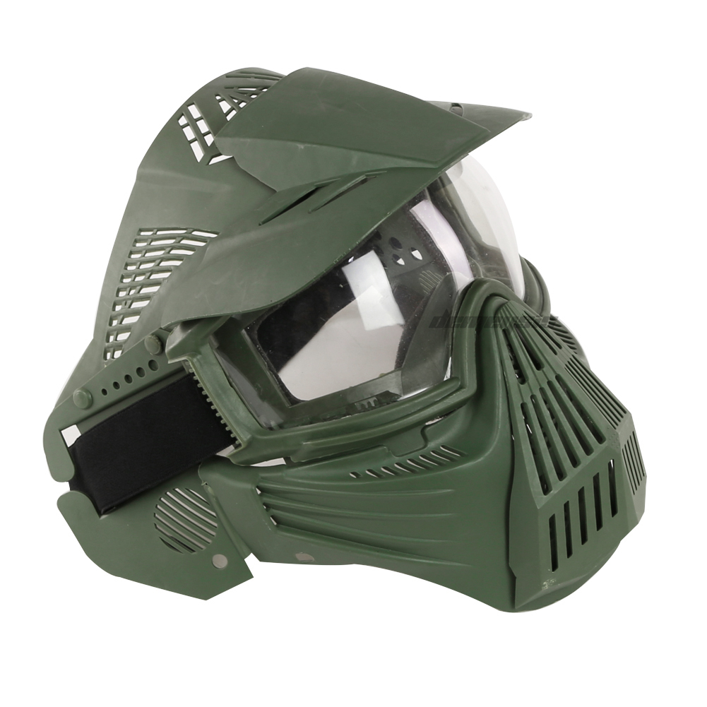 Airsoft Paintball Tactical Masks Full Face Military Impact Resistance Hunting Masks Outdoor Sports Men Women Shooting Army Mask