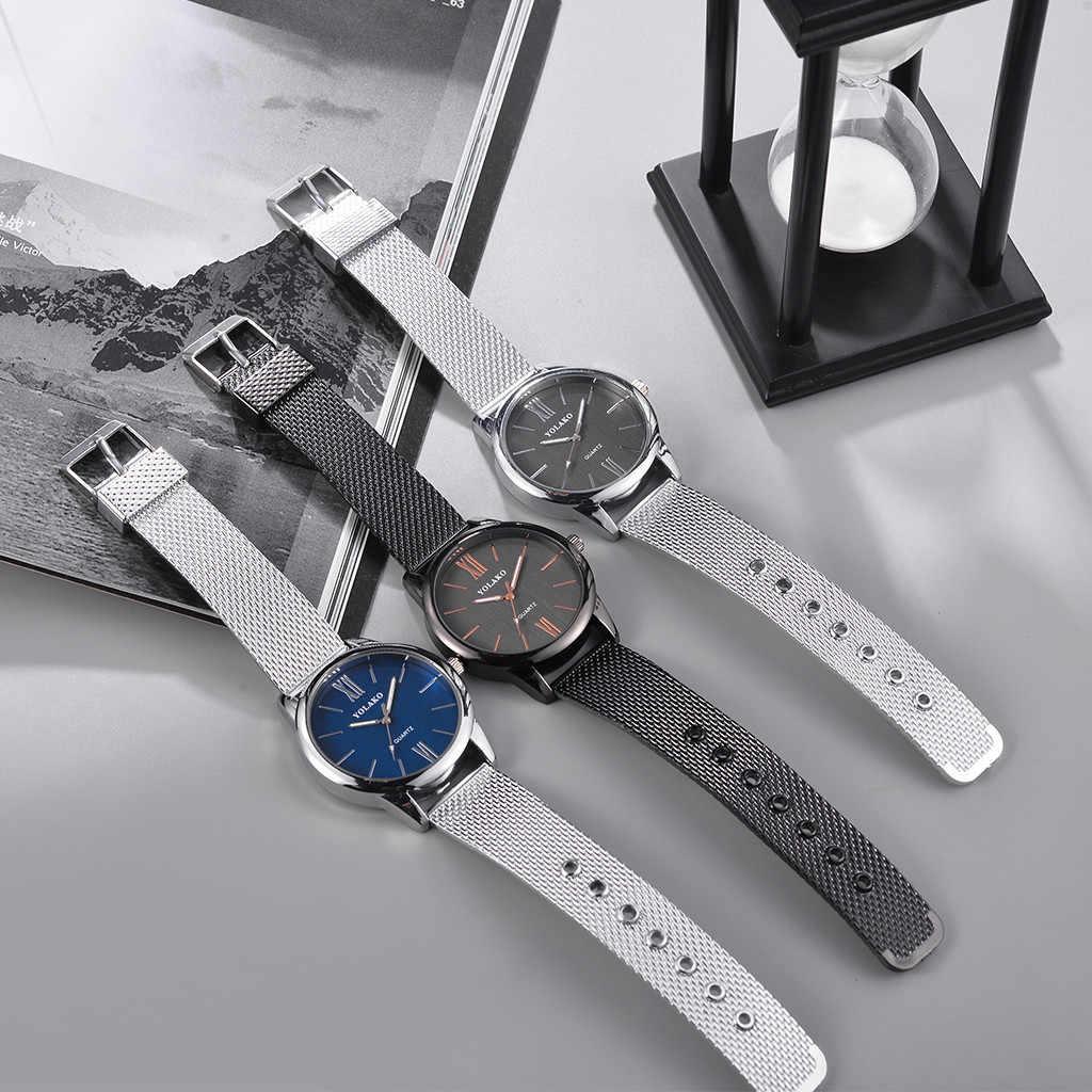 Vansvar נשים מקרית של קוורץ רצועת עור חדש רצועת שעון יד אנלוגית שעונים נשים זהב שעון קיר מודרני עיצוב erkek 50