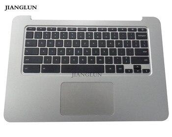 JIANGLUN для HP Chromebook 14 G3 подставка для рук с клавиатурой США Сенсорная панель серебро