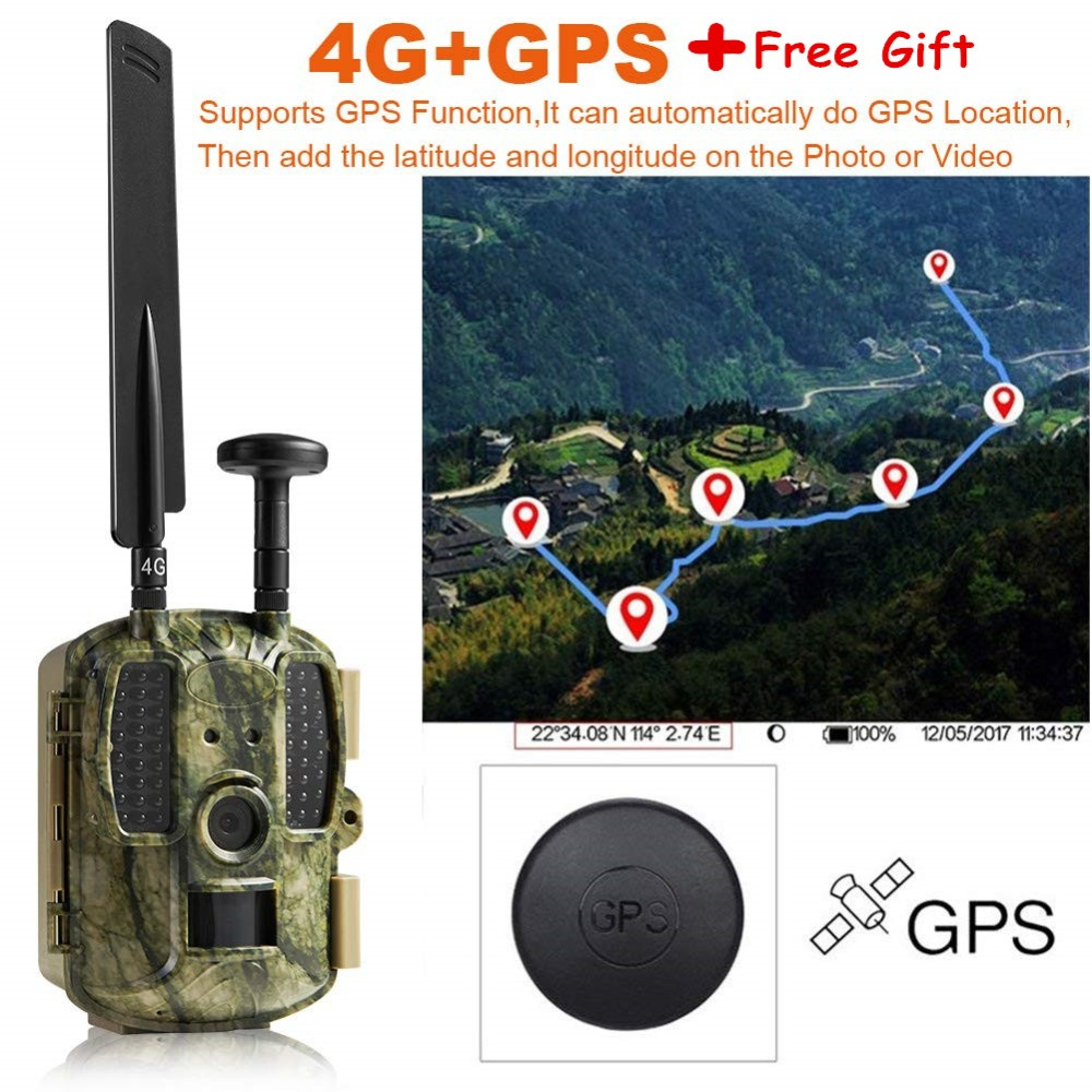 US $158 54 5% OFF|Scout Guard Hunting Camera Trail Forest Ghost BL480LP  12mp 2G/3G/4G WildCamera photo traps video game 4G Hunting hunter  Cameras-in
