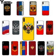 Yinuoda Armenia Albania Russia flag Emblem coat of arms Fundas Phone Case for iPhone 6S 6plus 7 7plus 8 8Plus X Xs MAX 5 5S XR