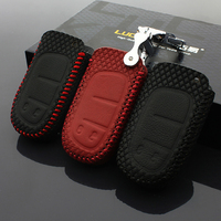 Car Key Chain Cover Fordodge JCUV 2013 2016 Fiat Freemont 2016 Jeep Cherokee GrandCherok 2016 Leather