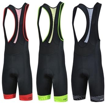 Pantalones cortos Cheji transpirables para ciclismo y ciclismo, pantalones cortos acolchados con...
