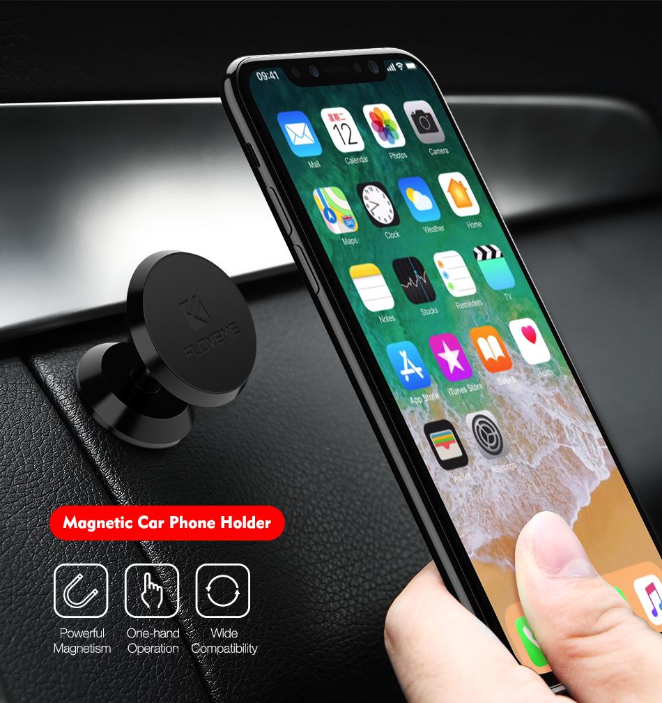 Support de téléphone de voiture magnétique universel