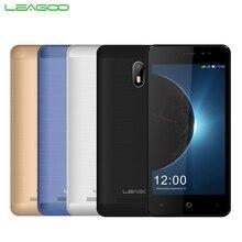 Original LEAGOO Z6 Teléfono Móvil de 4.97 pulgadas 1 GB RAM 8 GB MT6580M ROM Quad Core Android 6.0 2000 mAh 2MP + 5MP Cámaras 3G Smartpone