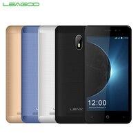 Originele LEAGOO Z6 Mobiele Telefoon 4.97 inch 1 GB RAM 8 GB ROM MT6580M Quad Core Android 6.0 2000 mAh 2MP + 5MP Camera 3G Smartpone