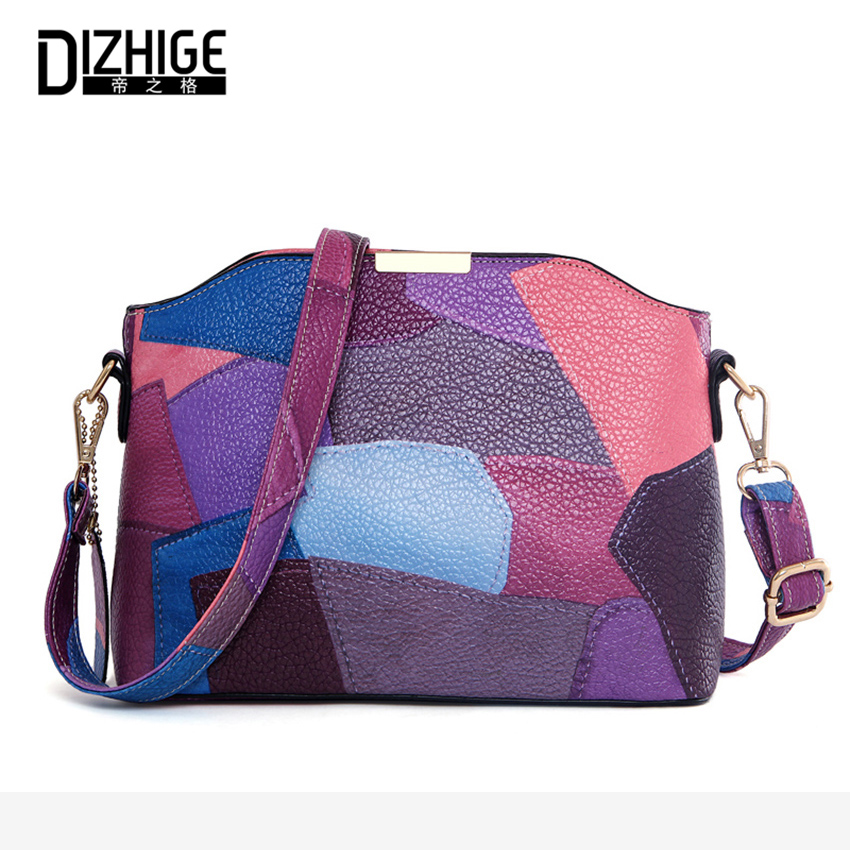 2017 Patchwork Flap Messenger Bag Women Panelled Small Crossbody Bags For Woman Fashion Sequined Ladies Hand Bags Sac Femme New stephen cole doctor who ten little aliens