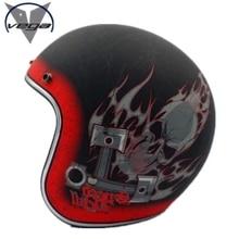 VEGA Capacete motorcycle helmet prince helmet Retro Motorcycle Helmet casco moto DOT approved