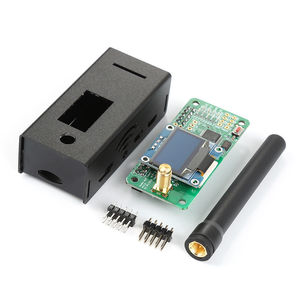 Image 4 - 2019 V1.7 Jumbospot UHF VHF UV MMDVM Hotspot For P25 DMR YSF DSTAR NXDN Raspberry Pi Zero 3B + OLED+Metal case +Antenna