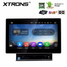 10.1″ Android 7.1 Nougat Double Din Car DVD 2 Din Car Multimedia Radio Two Din Navigation GPS DAB with Adjustable Screen Angles