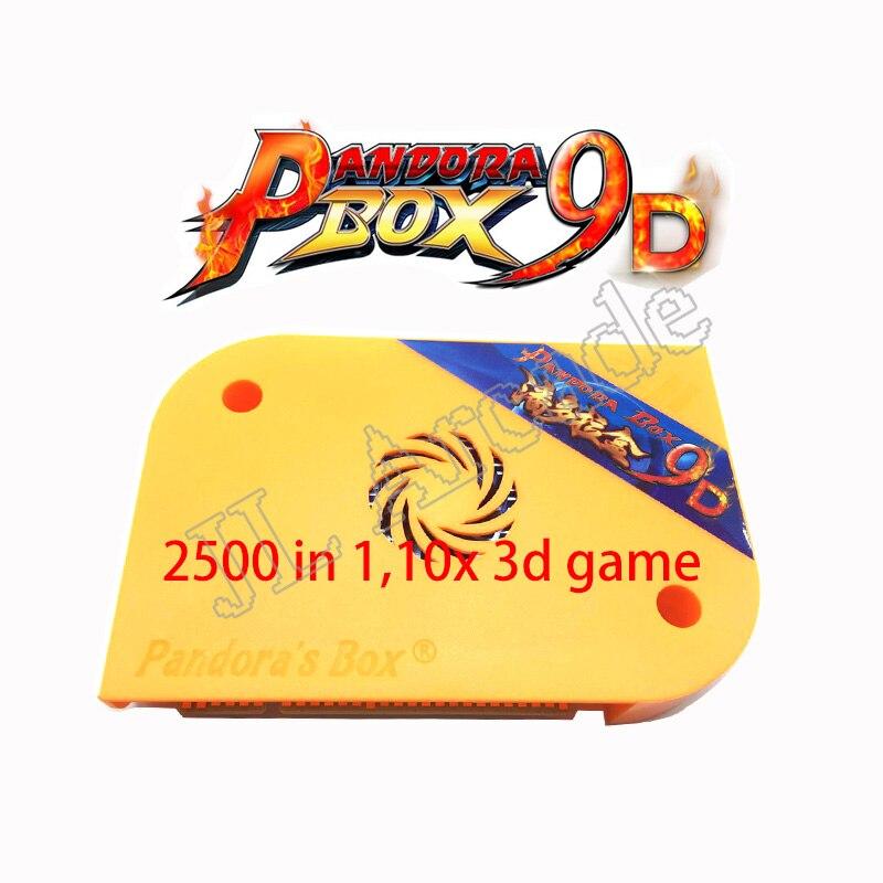 Pandora box 9D 2226 en 1/2500 en 1 version arcade HDMI VGA pour armoire d'arcade support 3P 4P jeu usb Gamepad 3D jeux