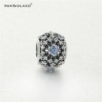 يحلو pandulaso سندريلا كريستال الخرز للمجوهرات صنع النساء أزياء الفضة 925 diy مجوهرات صالح سحر أساور