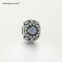 Pandulaso Cinderella's Wish Crystal Beads For Jewelry Making Women Fashion Silver 925 DIY Jewelry Fit Charms Bracelets & Bangles