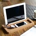 Para el iPhone 6 / 6 S / iPad aire / Air2 bambú Stand soporte más 5 pulgadas del teléfono móvil / 10 pulgadas Tablet PC