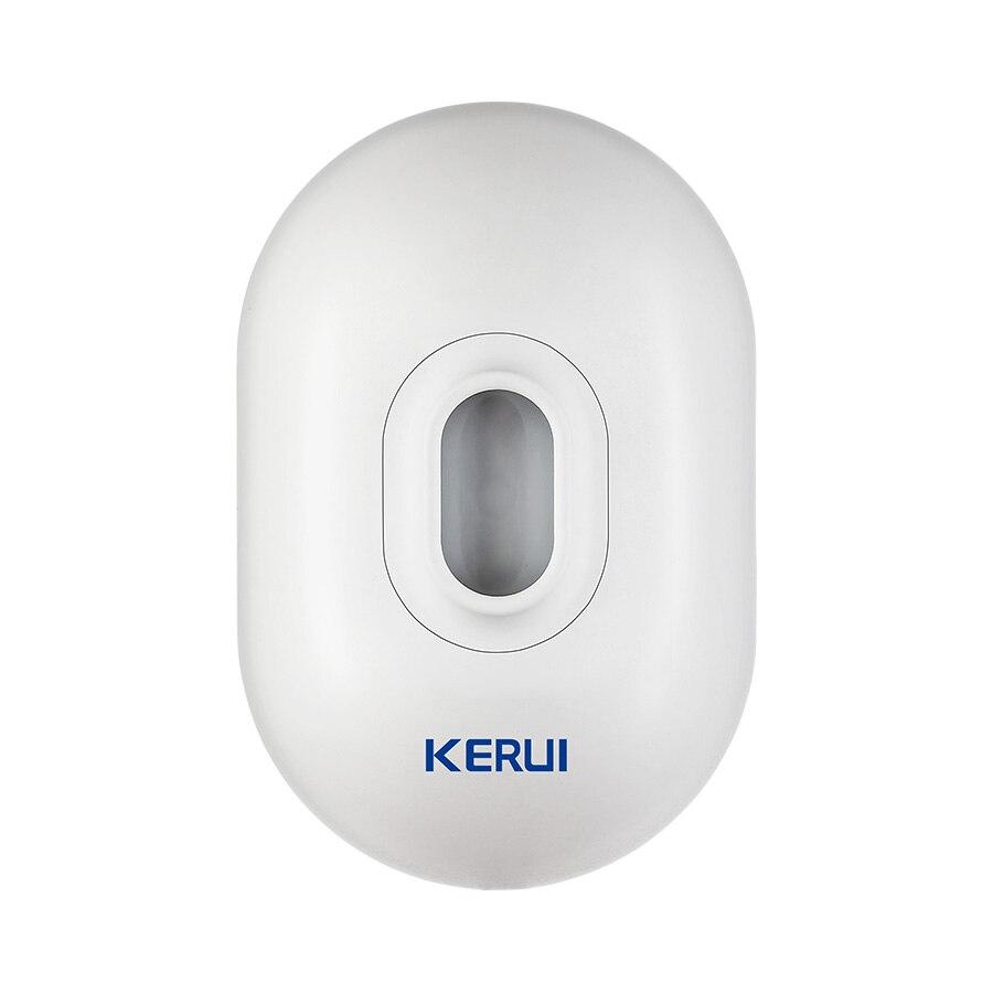 KERUI P861 Wireless Outdoor Waterproof Vehicle PIR Motion Detector Garage Security For G18 G19 W17 W18 W20 Burglar Alarm System