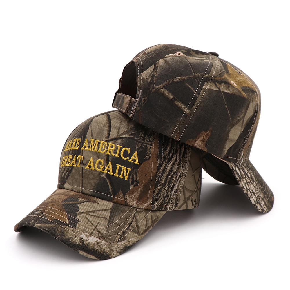 [SMOLDER]Make America Great Again Embroidery USA Flag 2020 Donald Trump Hat Re-Election Cotton Baseball cap Outdoor Camouflage 2