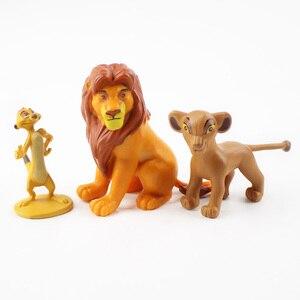 Image 4 - 12 pçs/set dos desenhos animados o leão guarda rei leão simba pvc figuras de ação bunga beshte fuli ono figurinhas boneca crianças brinquedos crianças meninos