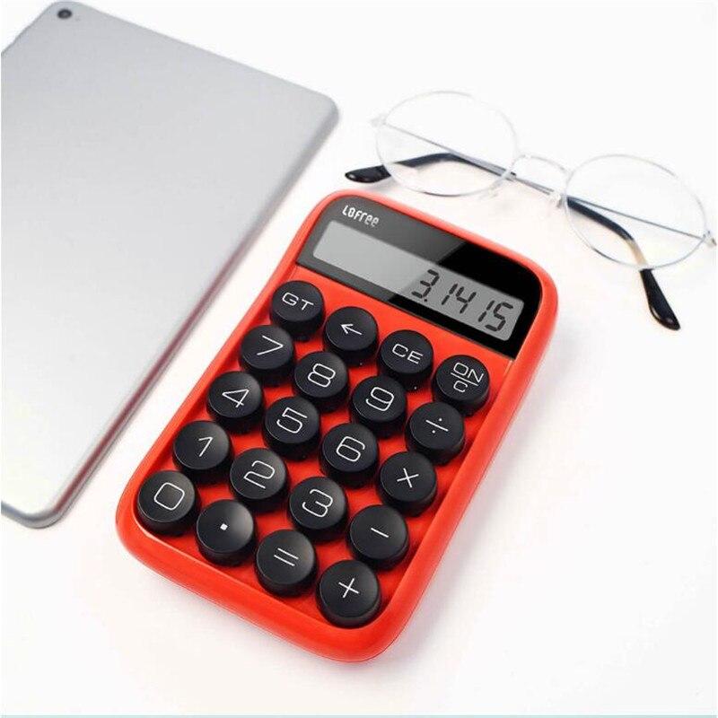 3 colors Xiaomi Loffee Calculator Vintage Decompressed detachable keycap intelligent shutdown student office calculation tool (3)