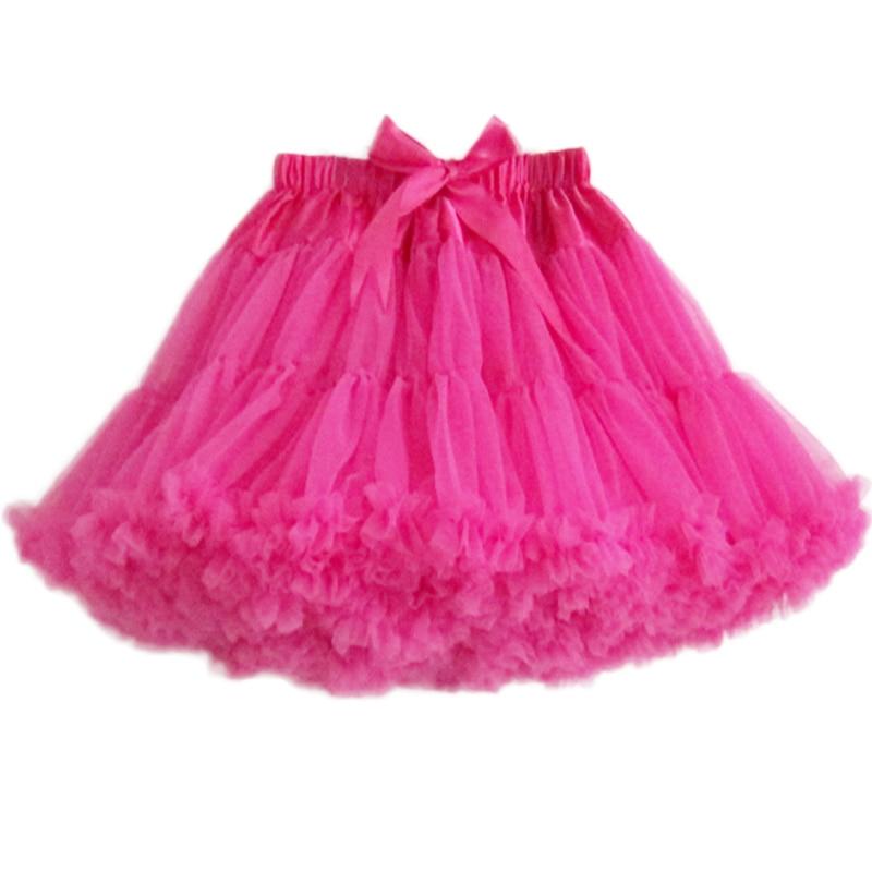 Extra Fluffy Teenage Girl Adualt Women Pettiskirt Tutu Women Tutu Party Dance Adult Skirt Performance Cloth