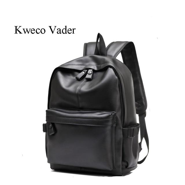 24004760219f Fashion Men Backpack 2017 Designer PU Leather Shoulder Bag Waterproof  Racksuck Casual School Backpacks Daypacks With