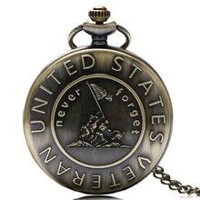 Бронзовые кварцевые карманные часы в стиле стимпанк никогда