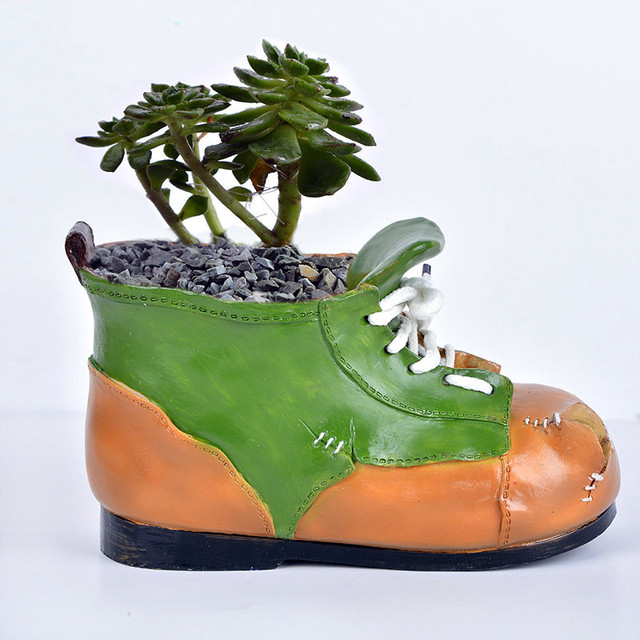 Pflanzen Schuhe Harz Us13 20Off Blumentopf Decor In Frosch kreative Blumen T0 16 Container 58 Hausgarten Bonsai Sukkulente Desktop Craft Mini NnvPy8Om0w