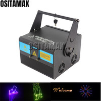 OSITAMAX A 1W Laser Party Light 1w 1000mw RGB Laser Projector Animation Effect with SD Card for Disco Show Christmas Laser Light