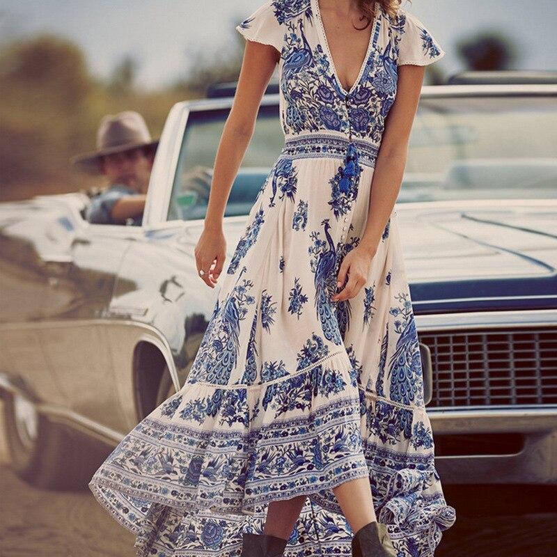 Retro Vintage Dress Tel Beach