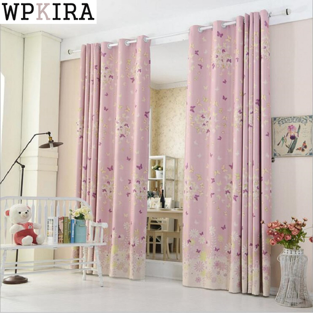 Children Living Room Butterfly Curtains Baby Room Curtains The ...