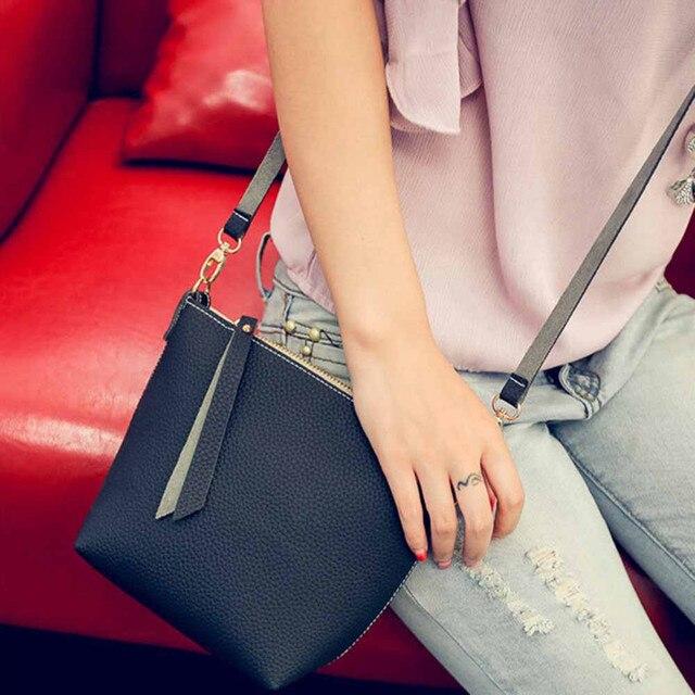 Superior Quality Women Men Leather Handbag Messenger Business Id Credit Card Protector Bag X Dropship