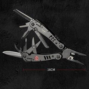 Image 2 - Ganzo pinces multi outil G302B G302H, pince à couteaux de survie pour pêche, pinces multioutil pliantes, couteaux de survie pour pêche