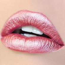 Pudaier Lipgloss 24 Color Metal Lipstick Matte Lip Gloss Metallic Long Lasting Liquid Lipstick for Lips Makeup Tint Cosmetics pudaier lip gloss liquid lipstick lipgloss glitter flip glitter lip glosses makeup matte lipstick shimmer long lasting cosmetics