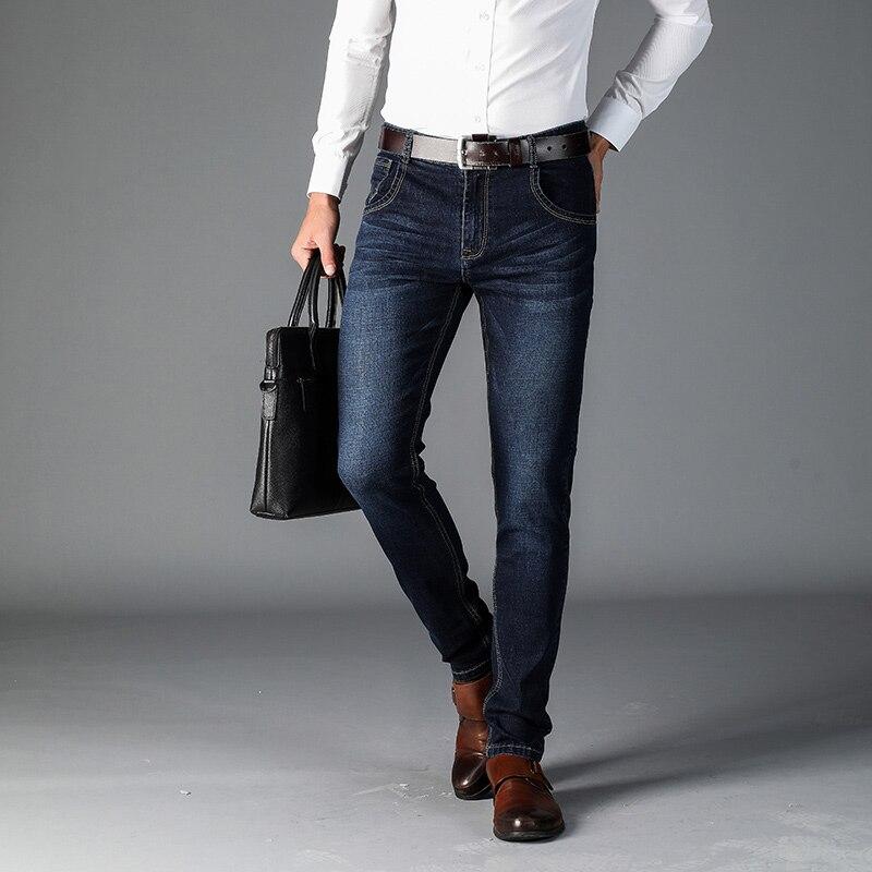 New autumn Men's cotton Jeans men