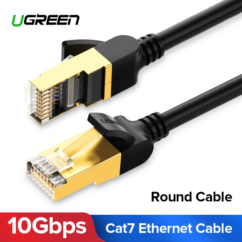Ugreen Cat7 Ethernet Cable RJ 45 Network Cable UTP Lan Cable Cat 7 RJ45 Patch Cord 10m/20m/30m for Router Laptop Cable Ethernet new arrival durable 40m 130ft rj45 for cat5 10m 100m ethernet internet network patch lan cable cord for computer laptop