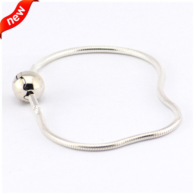 Essence Collection Bracelets Snake Chain(2MM) 100% 925 Sterling Silver Fashion Jewelry For  Women Wholesales B12010