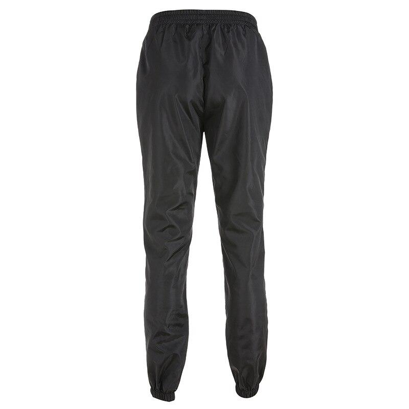 HOUZHOU Harem Pants Trousers Women Full Length Loose Jogger Mujer Sporting Elastic Waist Black Casual Combat Streetwear Fashion 39
